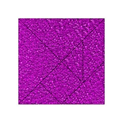 Sparkling Glitter Hot Pink Acrylic Tangram Puzzle (4  X 4 )