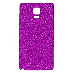 Sparkling Glitter Hot Pink Galaxy Note 4 Back Case