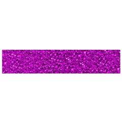 Sparkling Glitter Hot Pink Flano Scarf (small)