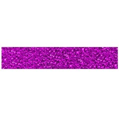 Sparkling Glitter Hot Pink Flano Scarf (Large)