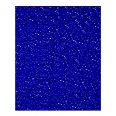 Sparkling Glitter Inky Blue Shower Curtain 60  x 72  (Medium)