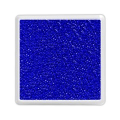 Sparkling Glitter Inky Blue Memory Card Reader (Square)