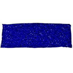 Sparkling Glitter Inky Blue Body Pillow Cases (Dakimakura)