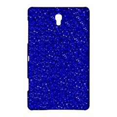 Sparkling Glitter Inky Blue Samsung Galaxy Tab S (8.4 ) Hardshell Case