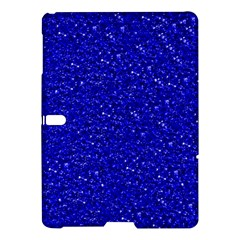 Sparkling Glitter Inky Blue Samsung Galaxy Tab S (10.5 ) Hardshell Case