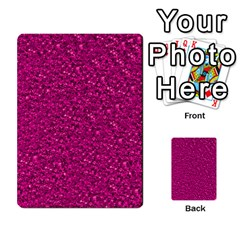 Sparkling Glitter Pink Multi-purpose Cards (Rectangle)