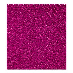 Sparkling Glitter Pink Shower Curtain 66  x 72  (Large)