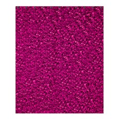 Sparkling Glitter Pink Shower Curtain 60  x 72  (Medium)