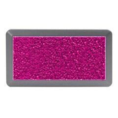 Sparkling Glitter Pink Memory Card Reader (Mini)