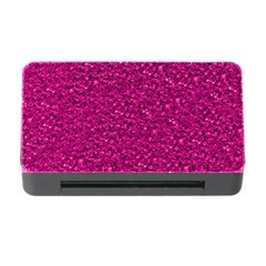 Sparkling Glitter Pink Memory Card Reader with CF