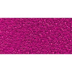 Sparkling Glitter Pink YOU ARE INVITED 3D Greeting Card (8x4)