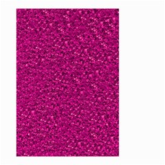 Sparkling Glitter Pink Small Garden Flag (two Sides)