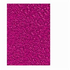 Sparkling Glitter Pink Large Garden Flag (Two Sides)