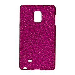 Sparkling Glitter Pink Galaxy Note Edge