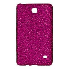 Sparkling Glitter Pink Samsung Galaxy Tab 4 (8 ) Hardshell Case