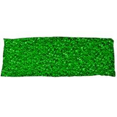 Sparkling Glitter Neon Green Body Pillow Cases (Dakimakura)