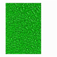 Sparkling Glitter Neon Green Small Garden Flag (Two Sides)