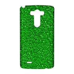 Sparkling Glitter Neon Green LG G3 Hardshell Case