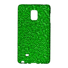 Sparkling Glitter Neon Green Galaxy Note Edge