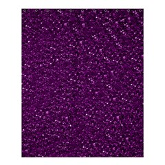 Sparkling Glitter Plum Shower Curtain 60  x 72  (Medium)