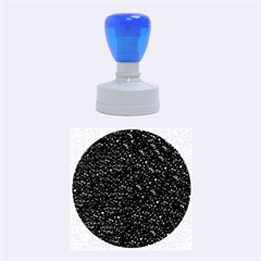 Sparkling Glitter Plum Rubber Round Stamps (medium)