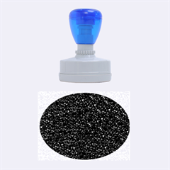 Sparkling Glitter Plum Rubber Oval Stamps