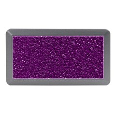 Sparkling Glitter Plum Memory Card Reader (mini)