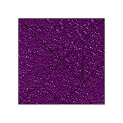 Sparkling Glitter Plum Acrylic Tangram Puzzle (4  x 4 )