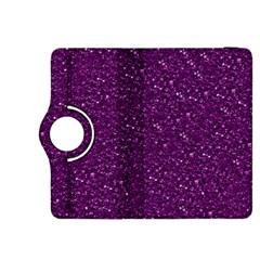 Sparkling Glitter Plum Kindle Fire Hdx 8 9  Flip 360 Case