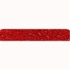 Sparkling Glitter Red Small Bar Mats
