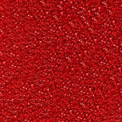 Sparkling Glitter Red Magic Photo Cubes