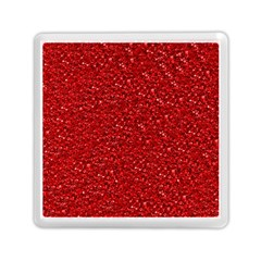 Sparkling Glitter Red Memory Card Reader (Square)