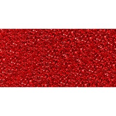 Sparkling Glitter Red YOU ARE INVITED 3D Greeting Card (8x4)
