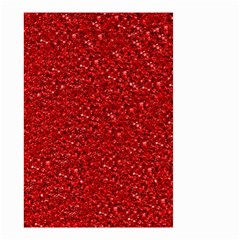 Sparkling Glitter Red Small Garden Flag (Two Sides)
