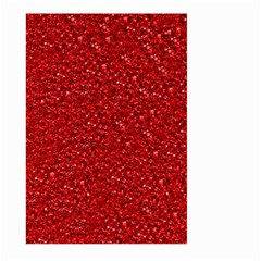 Sparkling Glitter Red Large Garden Flag (Two Sides)