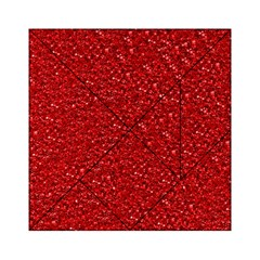Sparkling Glitter Red Acrylic Tangram Puzzle (6  X 6 )
