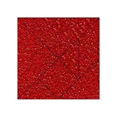 Sparkling Glitter Red Acrylic Tangram Puzzle (4  x 4 )