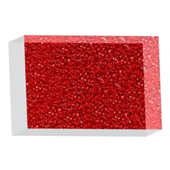 Sparkling Glitter Red 4 x 6  Acrylic Photo Blocks