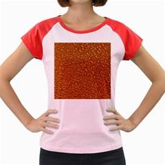 Sparkling Glitter Terra Women s Cap Sleeve T-Shirt