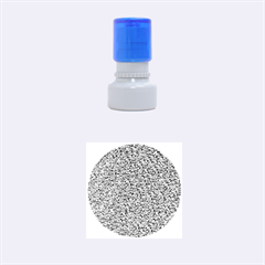 Sparkling Glitter Terra Rubber Round Stamps (small)