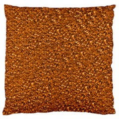 Sparkling Glitter Terra Large Flano Cushion Cases (Two Sides)