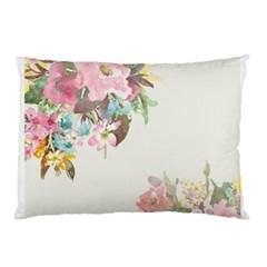 Vintage Watercolor Floral Pillow Cases