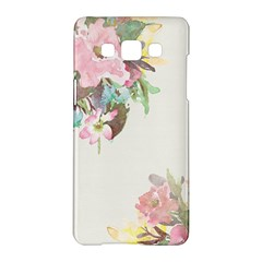 Vintage Watercolor Floral Samsung Galaxy A5 Hardshell Case