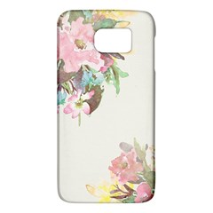 Vintage Watercolor Floral Galaxy S6