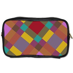 Shapes Pattern Toiletries Bag (two Sides)