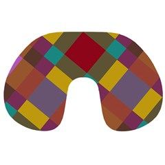 Shapes Pattern Travel Neck Pillow