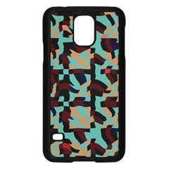 Distorted Shapes In Retro Colorssamsung Galaxy S5 Case