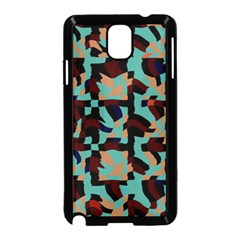 Distorted Shapes In Retro Colors Samsung Galaxy Note 3 Neo Hardshell Case