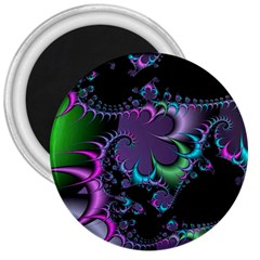 Fractal Dream 3  Magnets