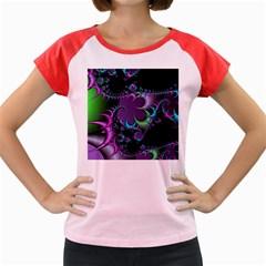Fractal Dream Women s Cap Sleeve T-Shirt